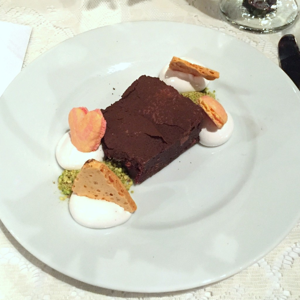 Aces of Taste Dinner - Brownie